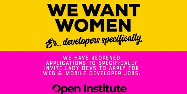 Inviting Female Developers to Apply