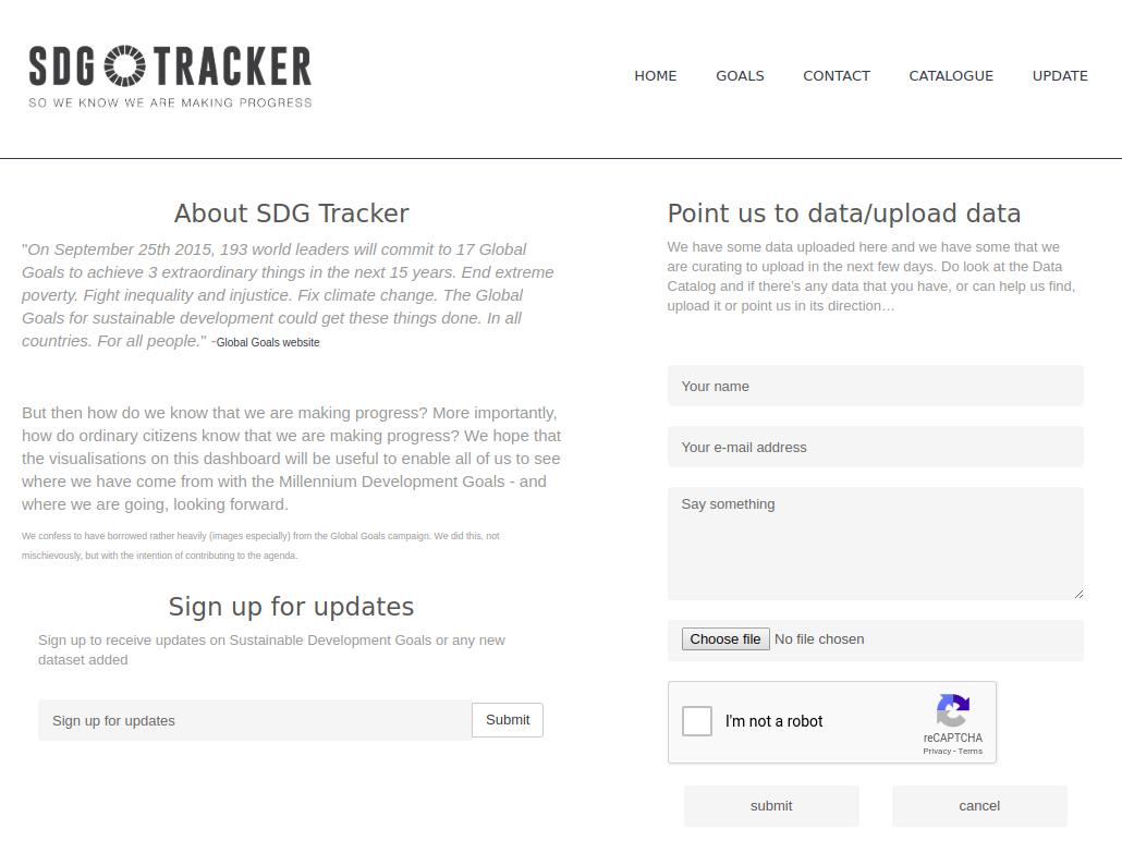 SDG Tracker